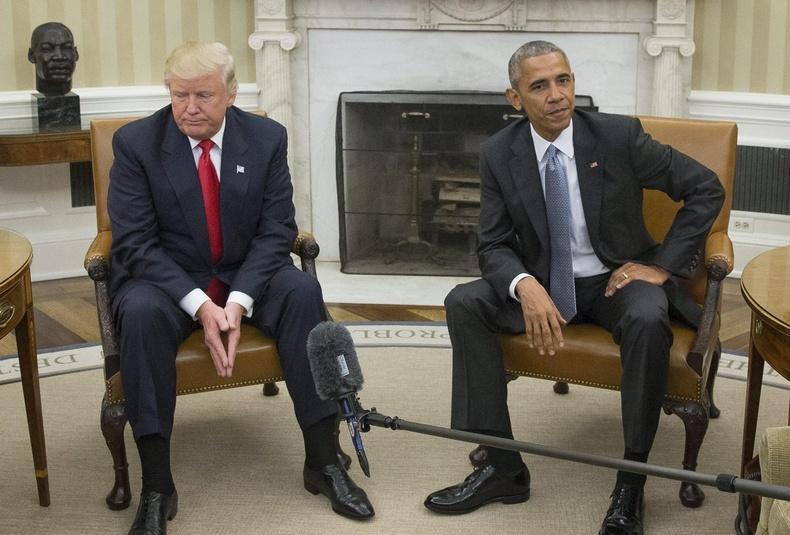 """Өмнөх ерөнхийлөгч Барак Обаматай """"Зууван танхим""""-д уулзав (2016.11.10)"""