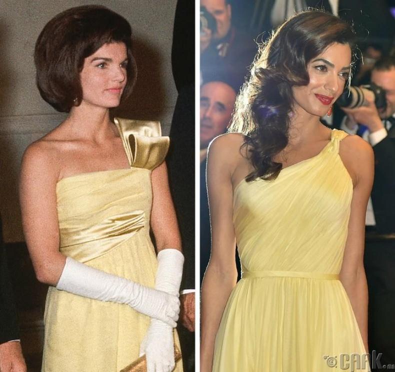 Жаклин Кеннеди — Амаль Клуни (Jacqueline Kennedy - Amal Clooney)
