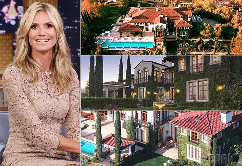 Хэйди Клум (Heidi Klum) - Лос Анжелес, 24 сая ам.доллар