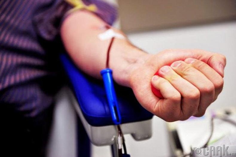 Донорын цусДОХ-ынвирус тээсэн эсэхийг дотор илрүүлж чаддаггүй