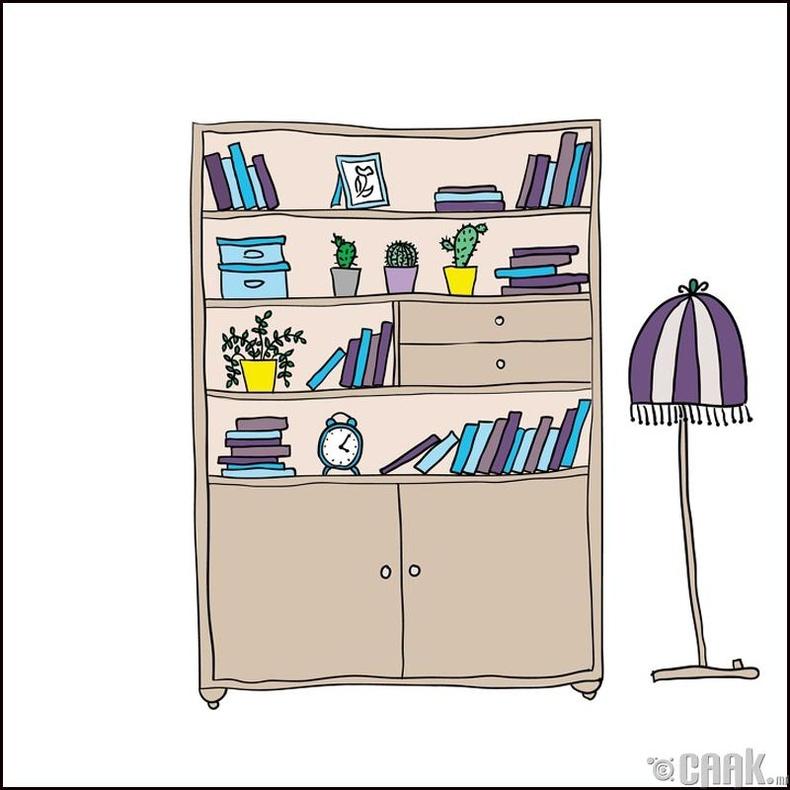 Номын тавиурыг зөвхөн номын тавиур гэж бүү бод