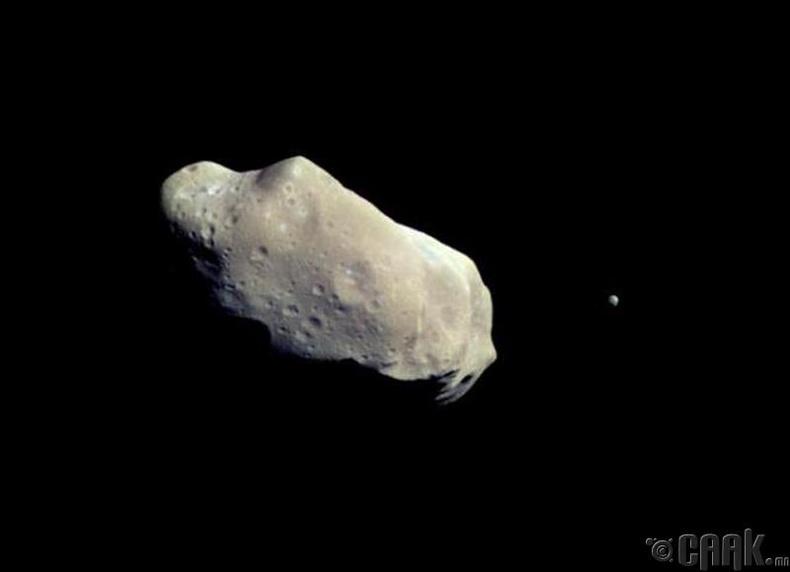 Нарны аймгийн хамгийн жижиг биет ч өөрийн дагуултай