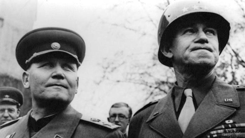 Иван Конев ба генерал Омар Брэдли нар