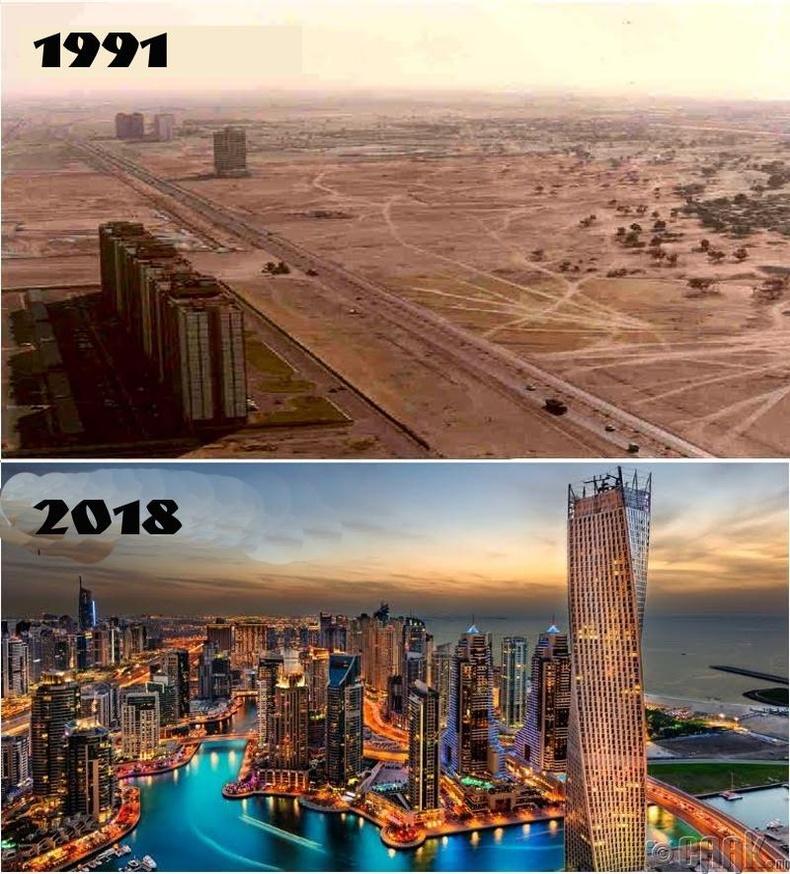 Тэр Дубай хотыг мөхлийн ирмэгт байхад нь босгож чадсан