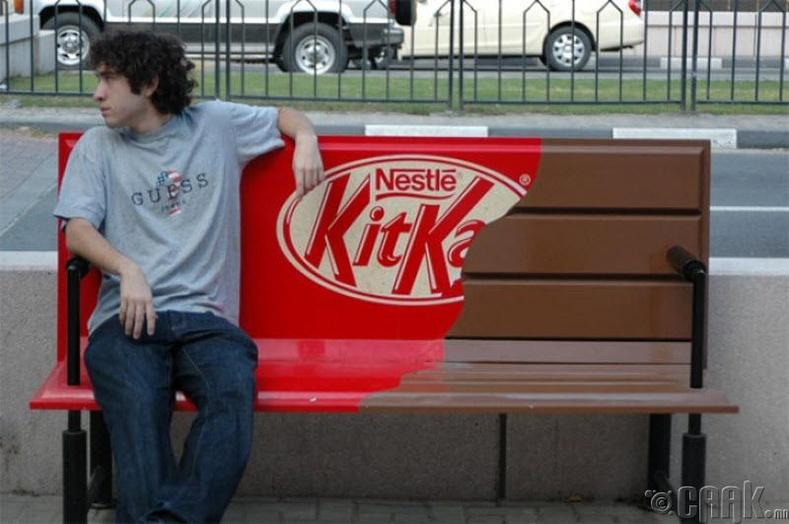 KitKat-ийн шоколадан сандал