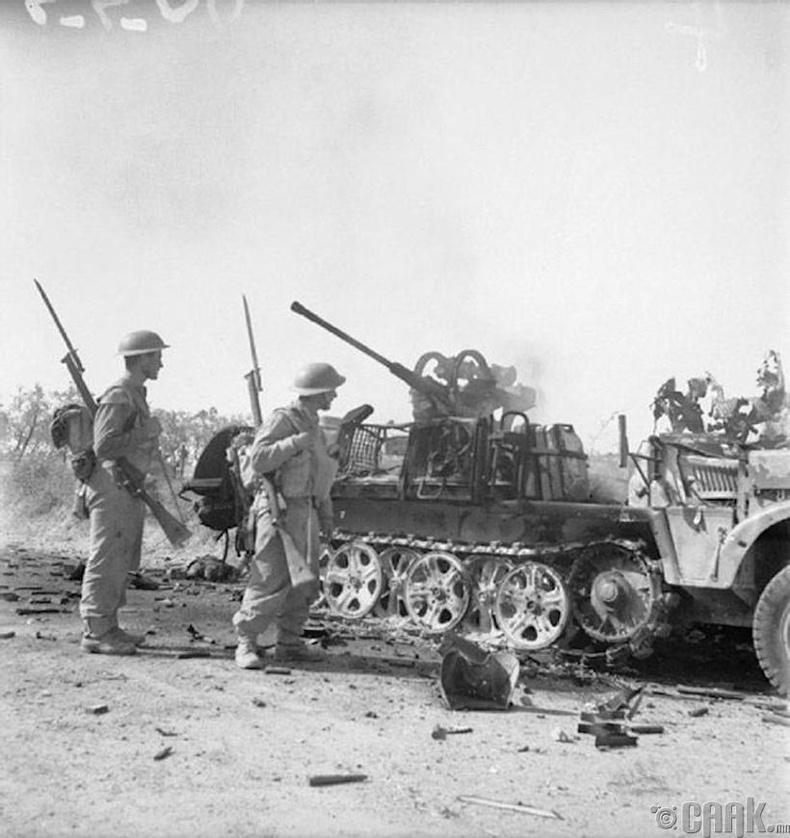 Сицилээс буцаж буй Германы цэргүүдийг зогсоосонгүй