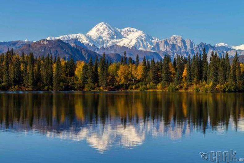 Аляска мужийг Оросоос худалдаж авсан.