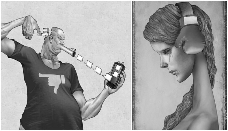 Аргентин зураачийн нийгмийг шүүмжилсэн шог зургууд