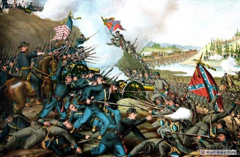 АНУ-ын иргэний дайн (1861-1865)