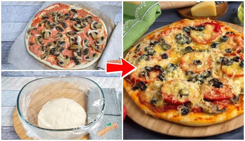 Шаржигнасан тахианы махтай амтат пицца хийх хялбар арга!