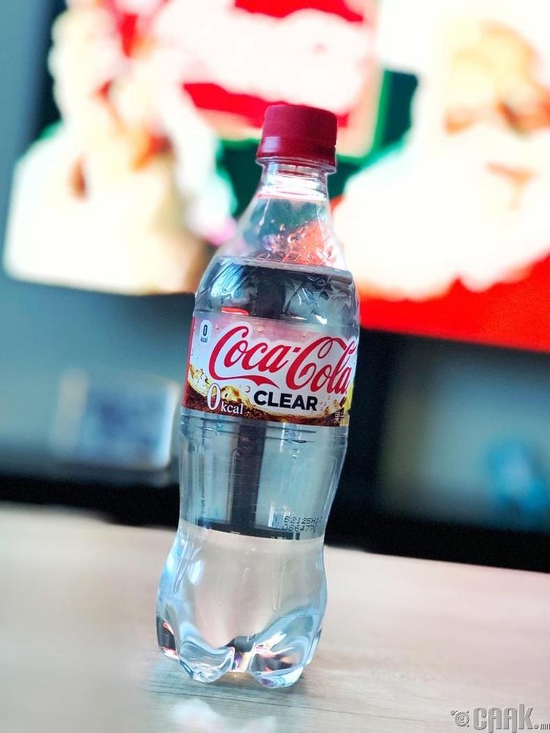 """Японд үйлдвэрлэгдсэн тунгалаг """"Coca Cola"""""""