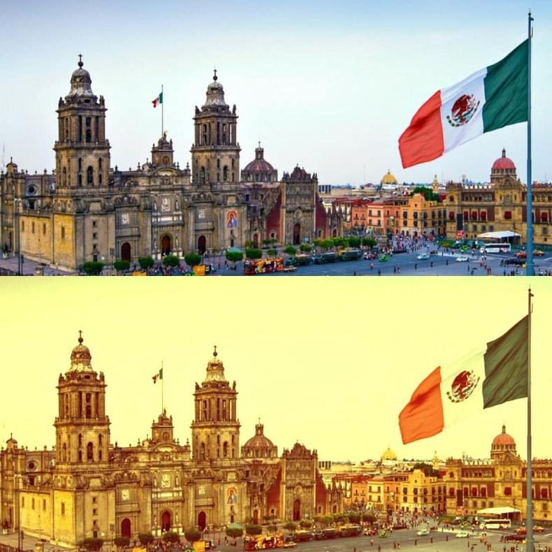 Мексикийг ёс юм шиг шаргал филтерт оруулдаг