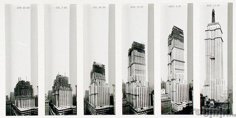 """""""Empire State"""" цамхаг, Нью-Йорк хот - 1929-1931 он"""