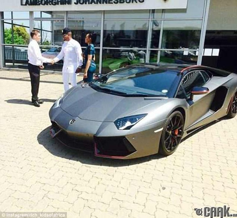 """Шинэ """"Lamborghini"""""""