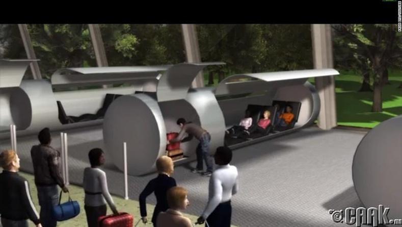 Ирээдүй рүү аялах тээвэр