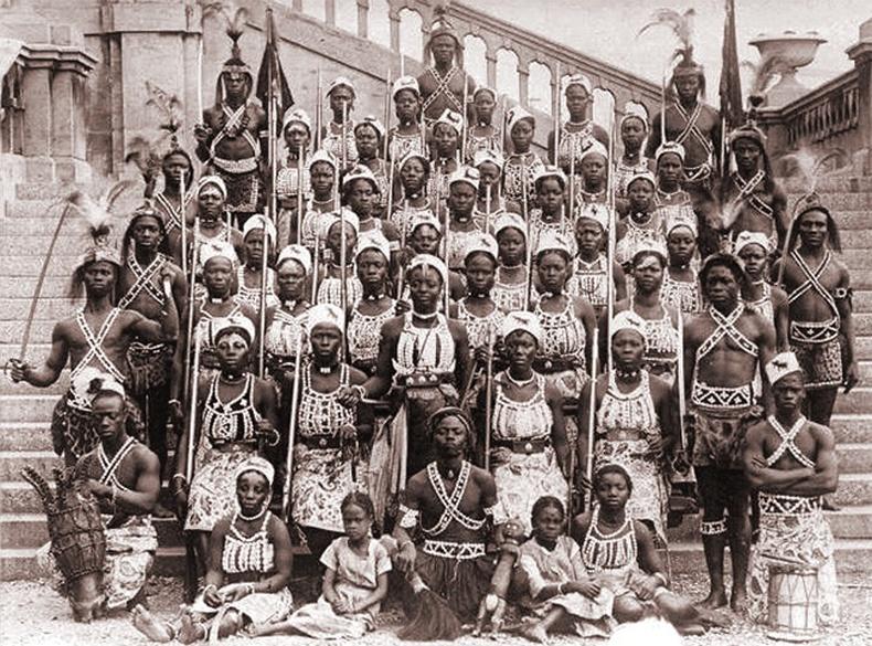 Дахомейгийн армийн гуравны нэг нь амазончууд байсан