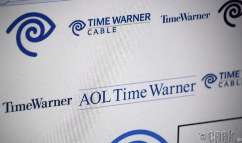 """""""AOL"""", """"Time Warner""""-ийг худалдаж авсан нь"""