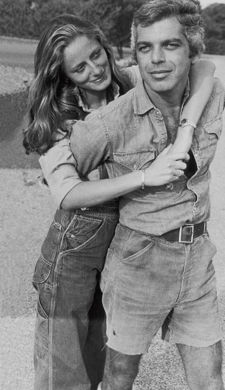 Алдарт загвар зохион бүтээгч Ральф Лорен эхнэр Рики Лорений хамт, 1964 он