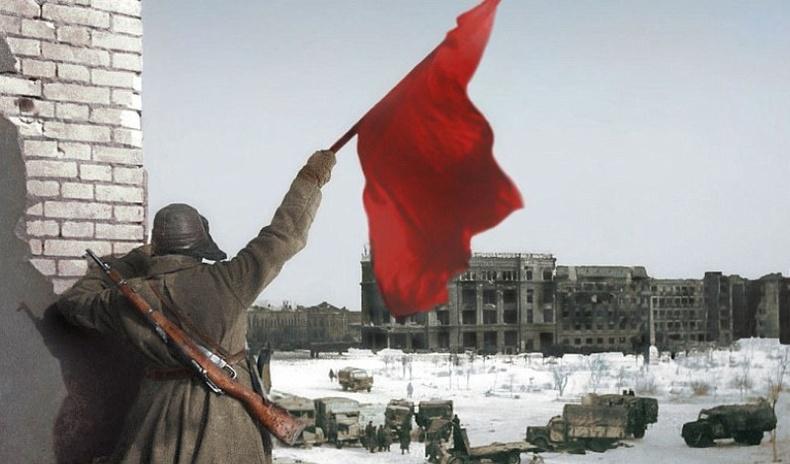 Алдарт Сталинградын тулааны өнгөт зургууд