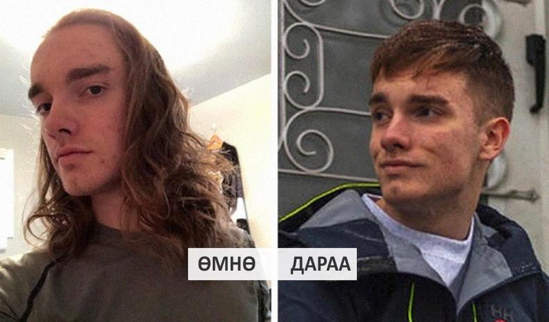 Эрчүүд үсээ засуулаад илүү царайлаг болдгийг нотлох зургууд