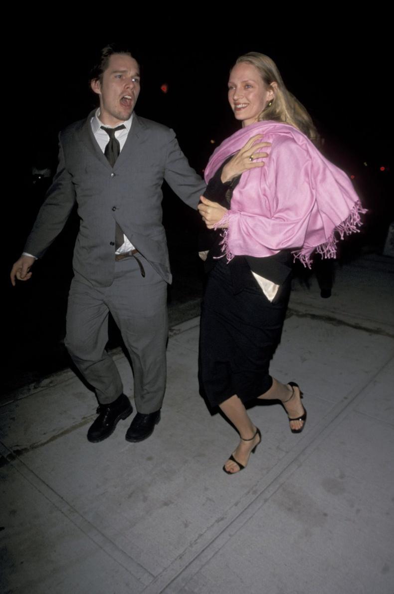 Итан Хоук болон Ума Турман, Нью-Йорк хот, 1999 он.