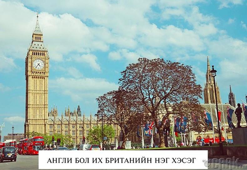 Англи болон Их Британи