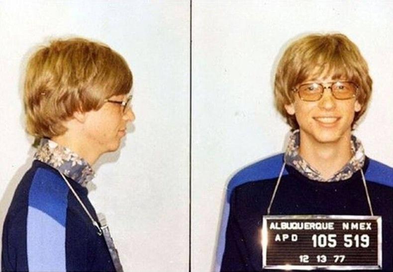 Билл Гейтс, 1977 он.