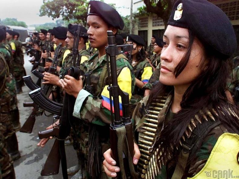 """Колумбын хувьсгалт зэвсэгт хүчин"" (The Revolutionary Armed Forces of Colombia)"