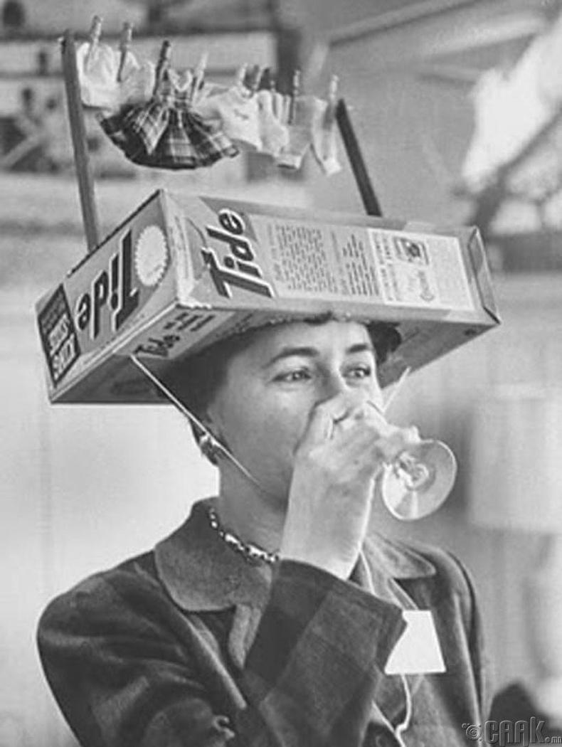Угаалгын нунтгийн сурталчилгаа, 1950 он
