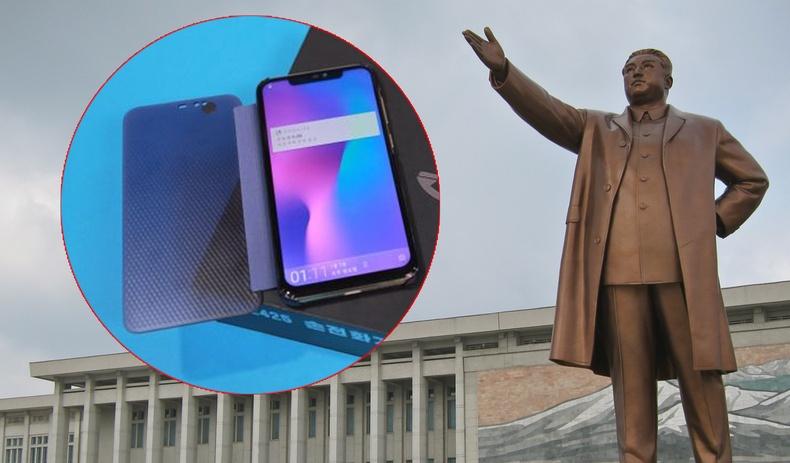 Хойд Солонгос өөрсдийн бүтээсэн шинэ ухаалаг утсаа танилцууллаа