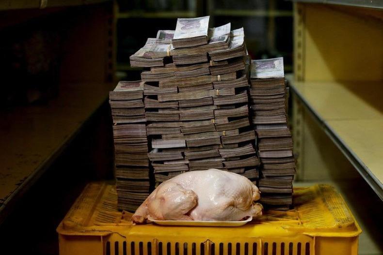 Өнөөдөр Венесуэльд 15,600,000-аар 2 кг тахианы мах худалдаж авч байна