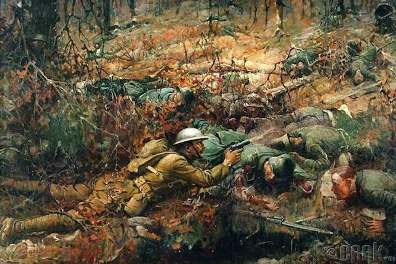 Элвин Йорк (Alvin York) - Дэлхийн нэгдүгээр дайн