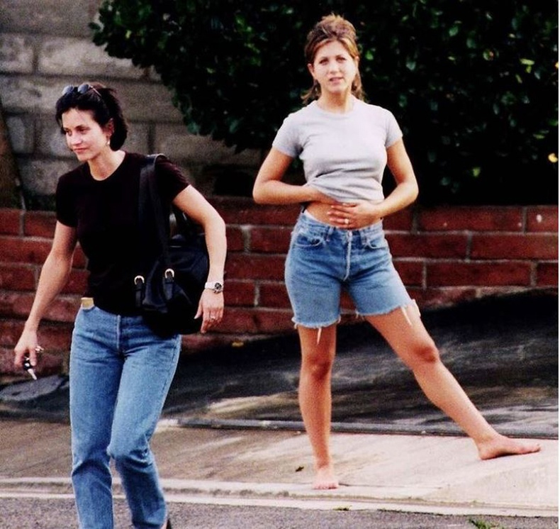 Кортни Кокс, Женнифер Анистон (Courteney Cox, Jennifer Aniston) - 1994 он