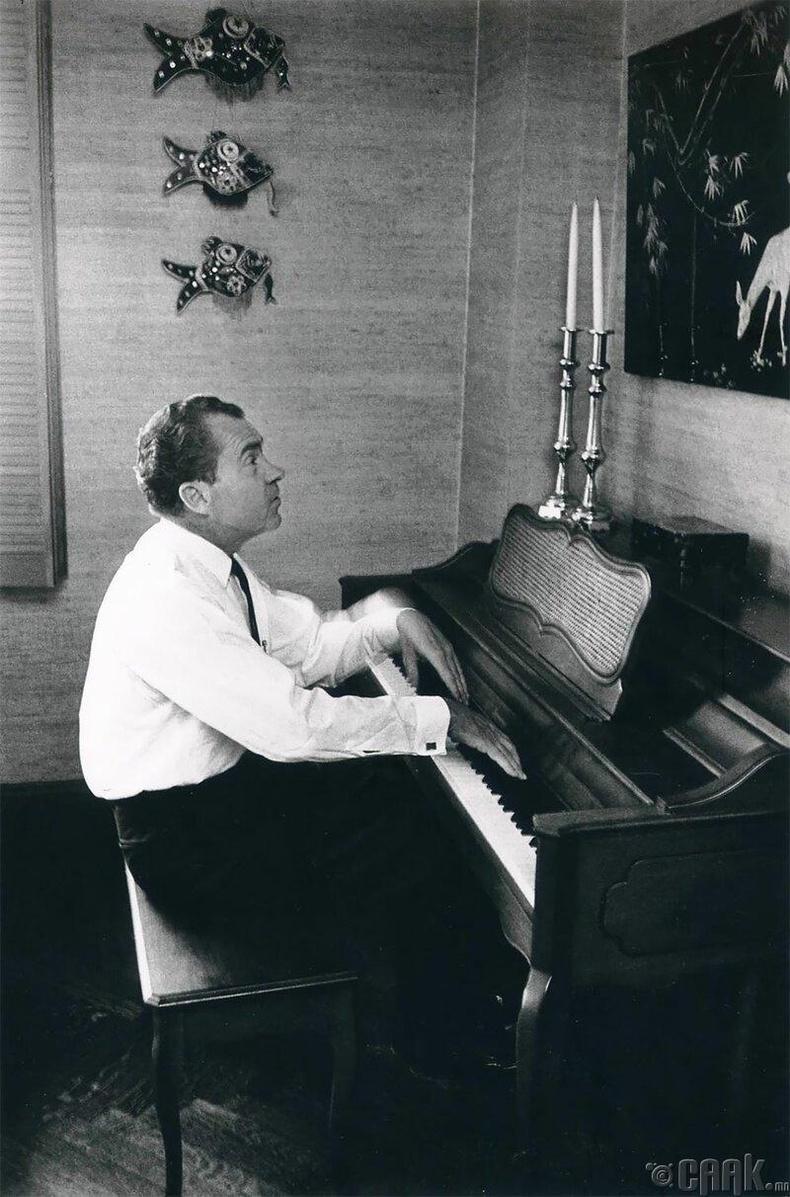 АНУ-ын 37 дахь Ерөнхийлөгч Ричард М. Никсон, 1966 он