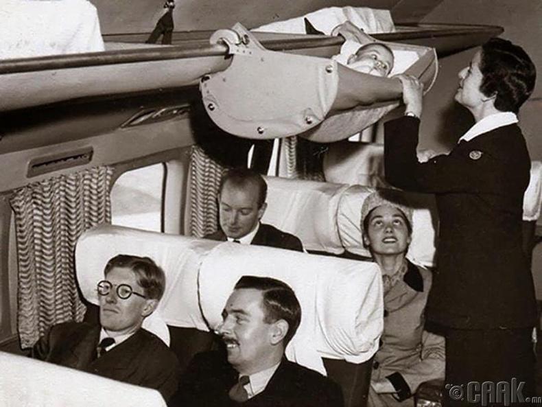 60-аад оны үед нислэгийн аюулгүй байдлын дүрэм тийм ч хатуу биш байв