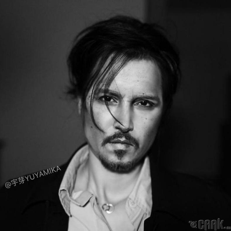 Нэрт жүжигчин Жонни Депп (Johnny Depp)
