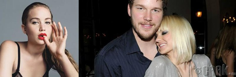Крис Пратт (Chris Pratt) болон Анна Фарис (Anna Faris)