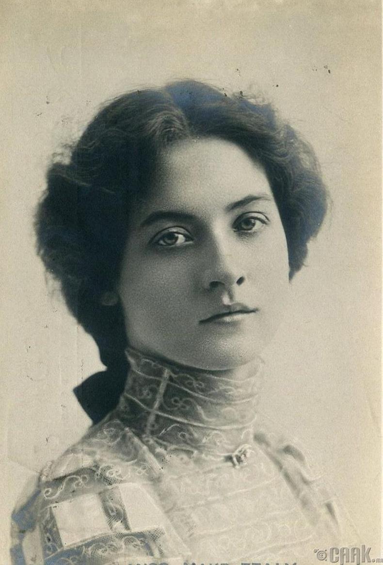Жүжигчин Мауд Фийли (Maude Fealy) - 1909 он
