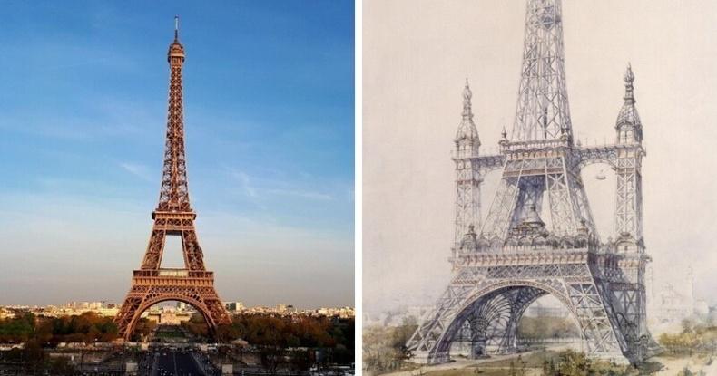 Эйфэлийн цамхаг, Парис хот