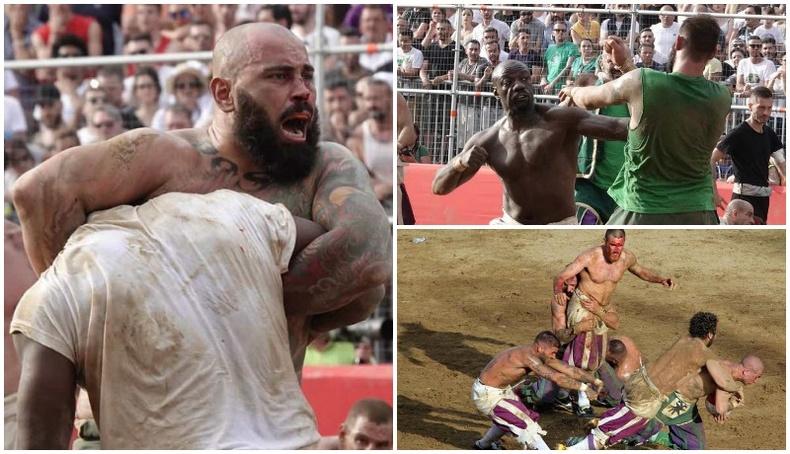 Италид болдог хамгийн харгис тэмцээн
