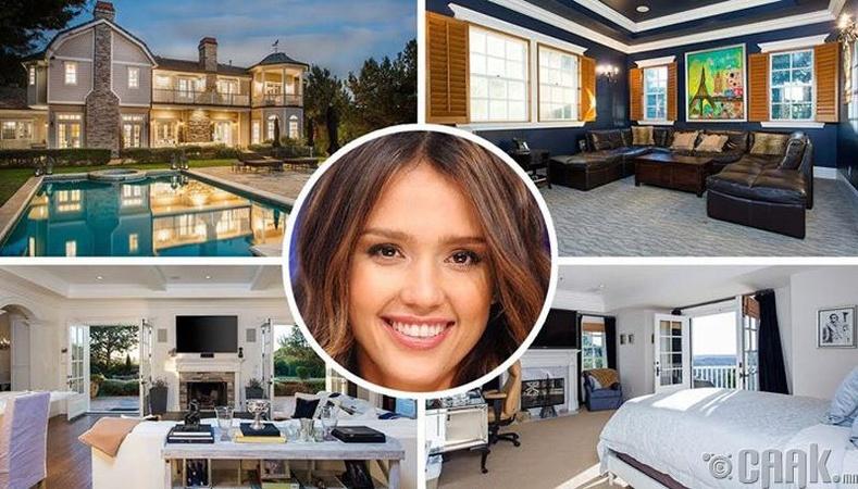 Жессика Альба - 9.95 сая ам.долларын үнэтэй эдлэн