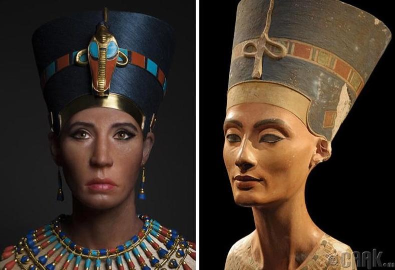 Тутанхамон фараоны төрсөн ээж, Нефертити