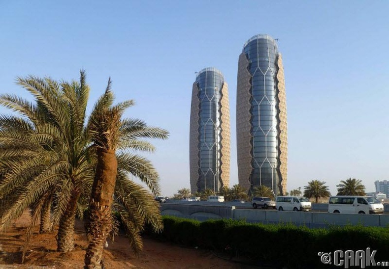 "Абу-Даби дахь ""Aль-Бахар"" цамхаг"