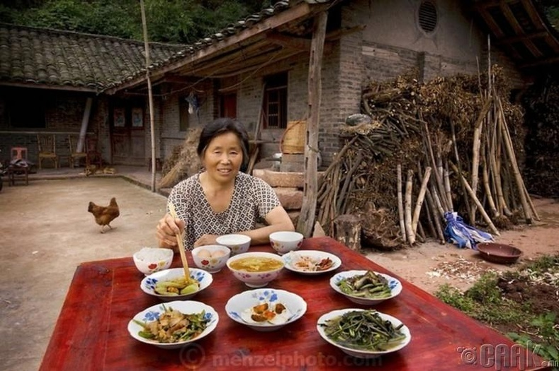 Лан Гуйхуа, Китай - 1900 ккал