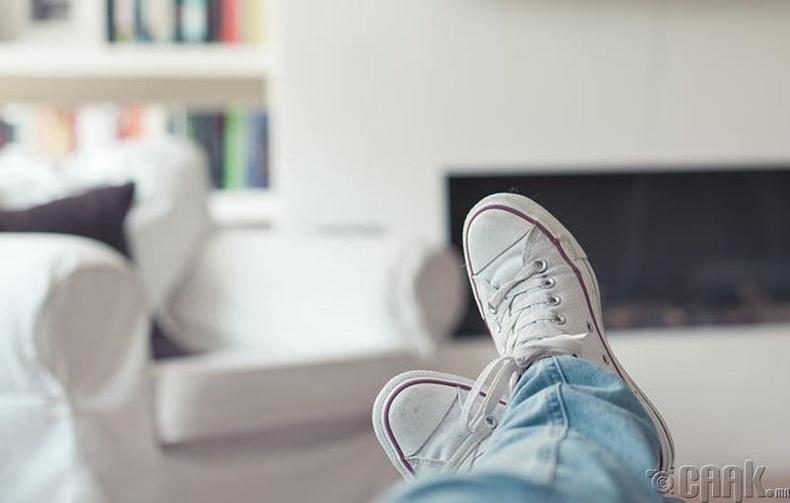 Гадны гуталтайгаа гэртээ орох