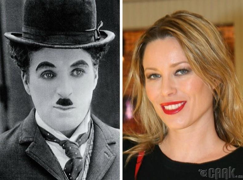 Кира Чаплин, жүжигчин Чарли Чаплины ач охин