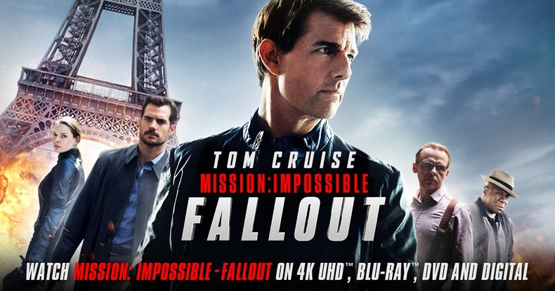 """Mission: Impossible - Fallout"" -IMDb оноо: 7.9"