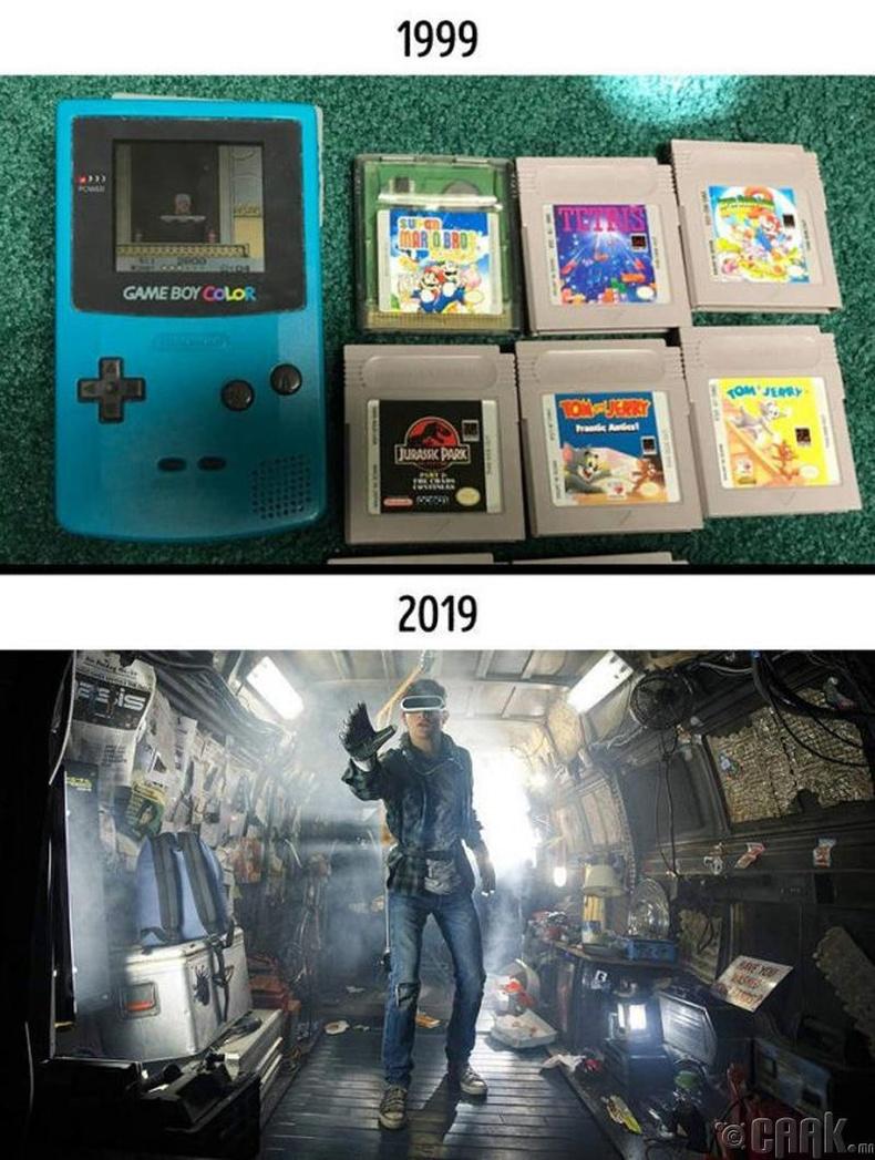 Дээрх хугацаанд видео тоглоом төсөөлөхийн аргагүй өөрчлөгджээ