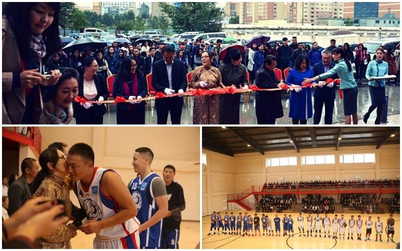 """""""СИТИ"""" Их сургуулийн """"Аянга"""" багийн тамирчид болон оюутнууд шинэхэн спорт заалтай боллоо"""