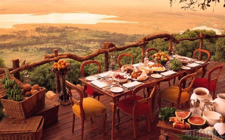 """""""Ngorongoro Crater Lodge"""" - Нгоронгоро, Танзани"""
